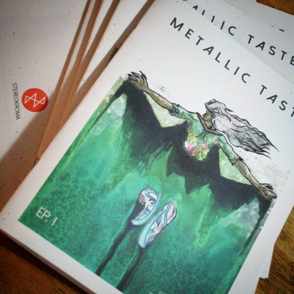 Metallic Taste Episode 1 Limited First Edition Print (Limited) by Karolina Szablewska