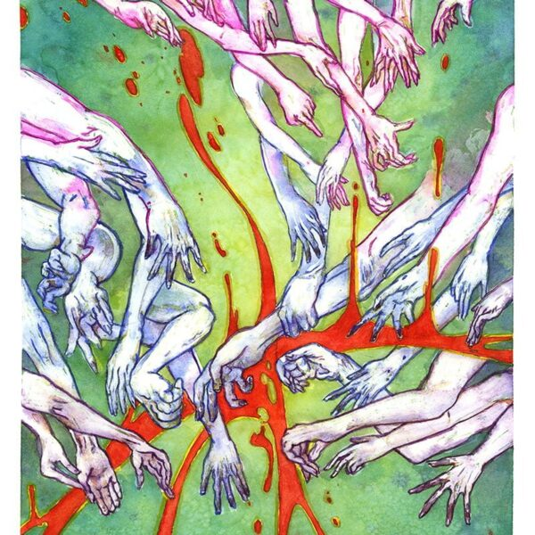 the reach watercolor painting