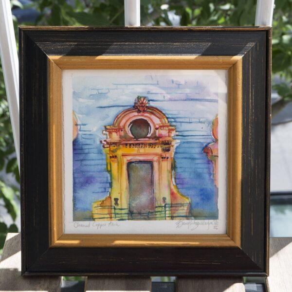 Original Art - Cleaned Copper Arch by Karolina Szablewska