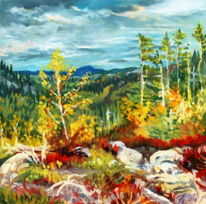 Parc National des Grands-Jardins No 1 oil painting