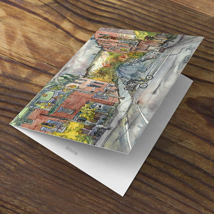 Montreal Streets Assorted Set of Greeting Cards by Karolina Szablewska