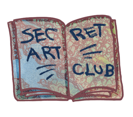 Join the Secret Art Club by Karolina Szablewska