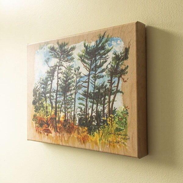 Nova-Scotia-Trees-Canvas-Art-Print-by-Karolina-Szablewska