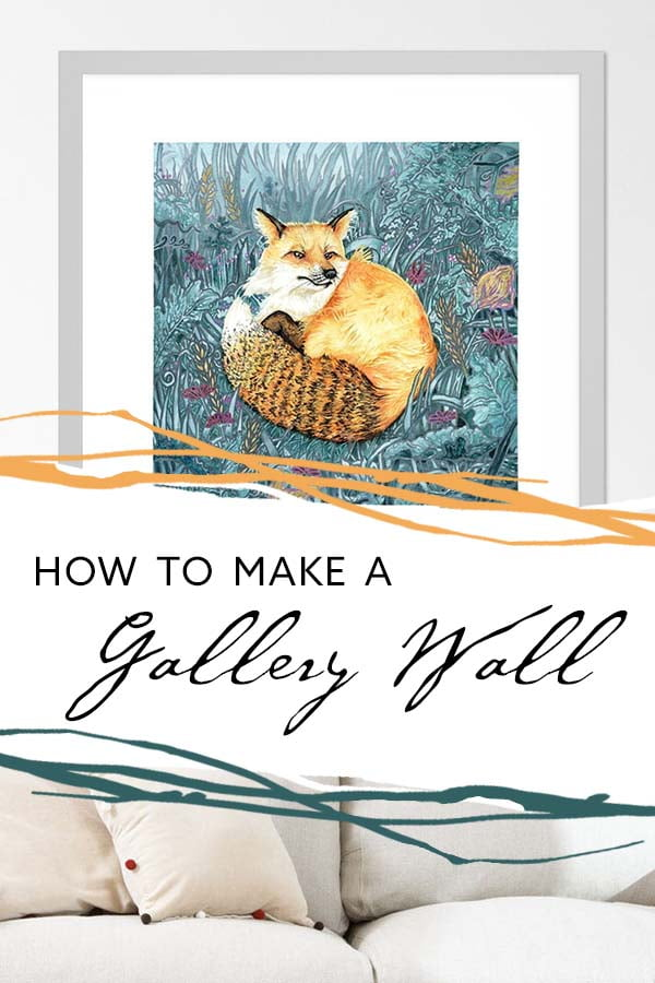 How to Make a Gallery Wall with Art Prints - 5 Essential Tips for an Impressive Design by Karolina Szablewska