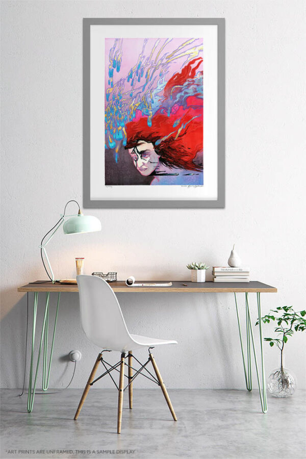 Surreal Print - Extra Large Wall Art / Dark Weird Art / Abstract Human Anatomy Art / Surrealism by Karolina Szablewska