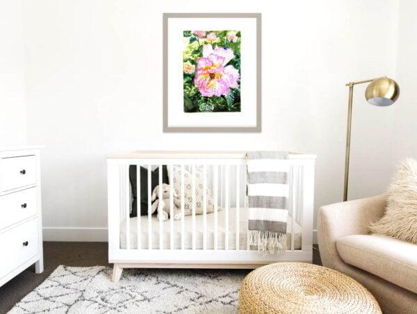 Rose Art Prints - Floral Extra Large Wall Art / Flowers from Botanical Gardens by Karolina Szablewska