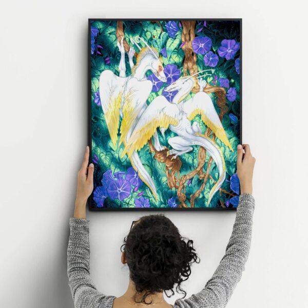 Original Paintings & Art Prints by Karolina Szablewska, Canadian Visual Artist by Karolina Szablewska