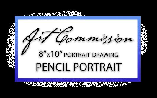 "8""x10"" Pencil Portrait Painting by Karolina Szablewska"